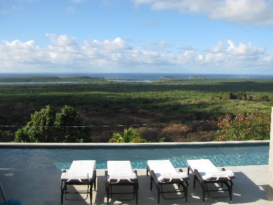 Casa Cascadas : View from Lower Terrace