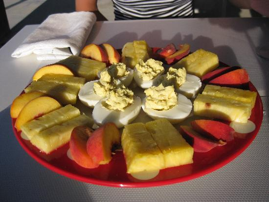 Casa Cascadas : Breakfast
