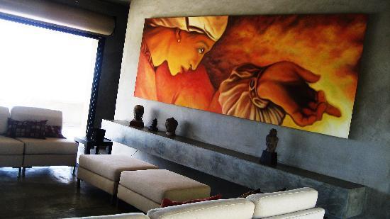 Casa Cascadas: Painting