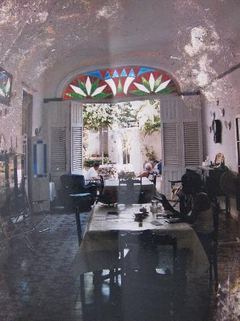 Gibara, Cuba: Une photo de photo du vitrail disparu