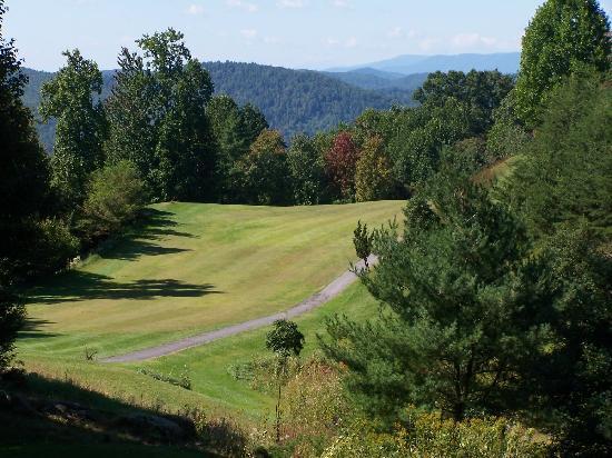 Hole 13 - Stone Mountain Golf Club, Traphill NC