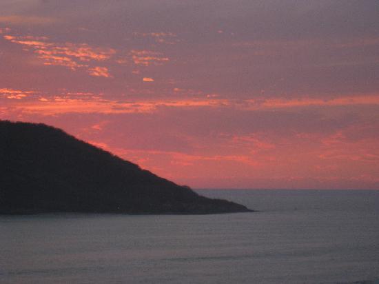 El Cid Castilla Beach Hotel : Great sunsets from our room