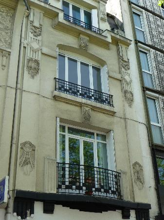 Art Deco Facade Picture Of Paris Champagne Tour Paris