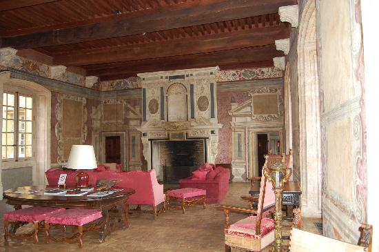 Chateau de Bagnols: Grand Salon