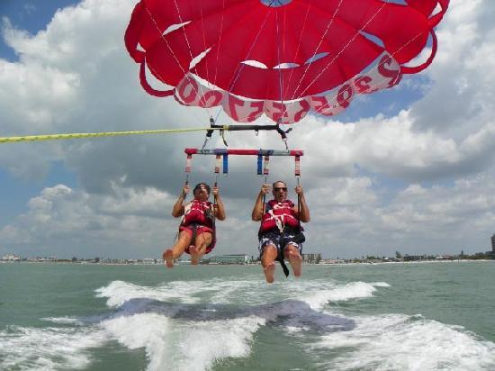 Ranalli Parasail: One fun part was taking off!