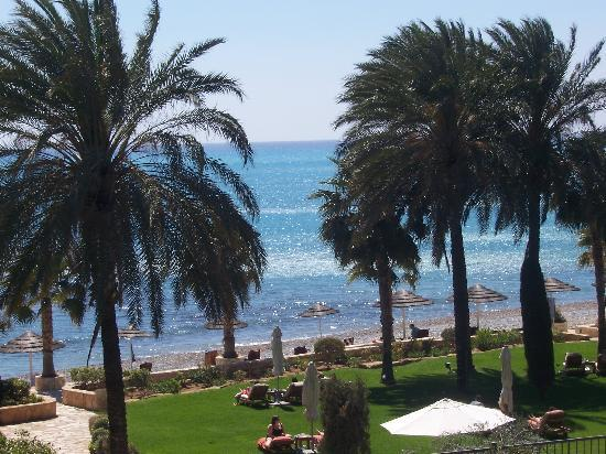 Pissouri, Cypr: The Beach from Columbia Beach Resor