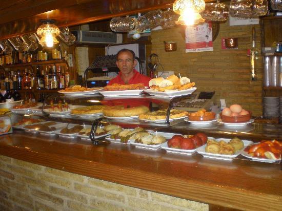 Bar Restaurante La Plaza : PINCHOS