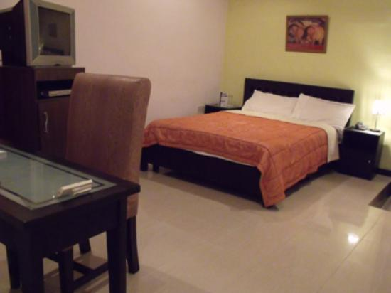 Avenue Hotel: Modern rooms configured to be business-person friendly