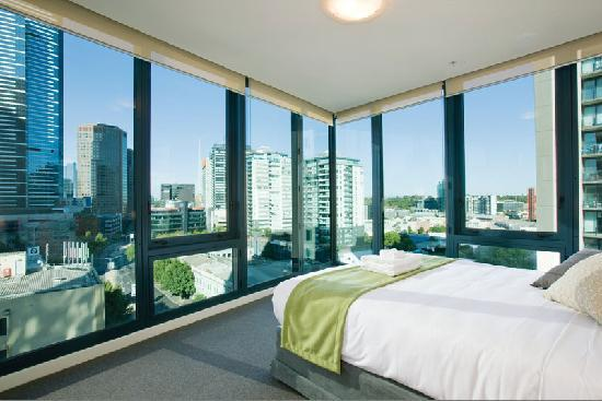 Bedroom Picture Of Melbourne Short Stay Apartments At Southbankone Melbourne Tripadvisor