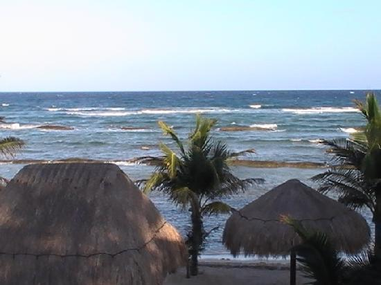 Hidden Beach Resort by Karisma: Our window view