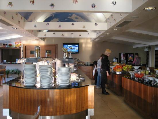 Hotel Venera: Breakfast area