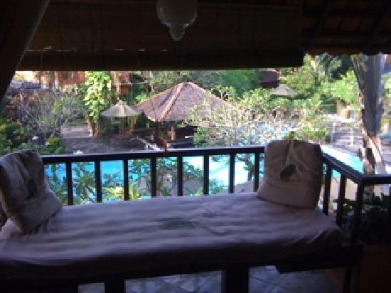 Dusun Jogja Village Inn: Pool view from Balcony