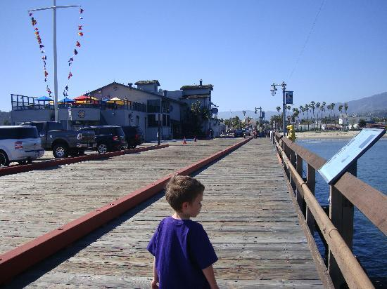 Santa Barbara, Californië: View from Stern's Wharf