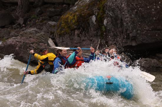10,000 Waves Raft & Kayak Adventures: Rafting the Blackfoot River