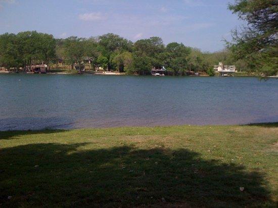 Austin, TX: Waterfront RV camping spot