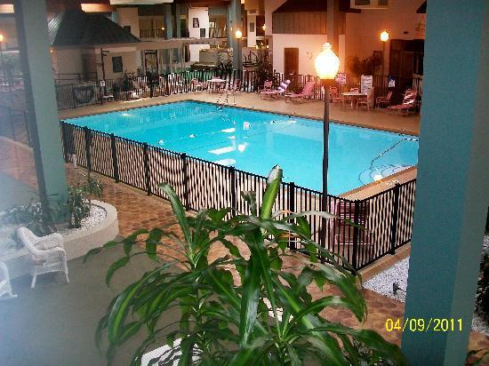 Quality Inn & Suites: indoor pool