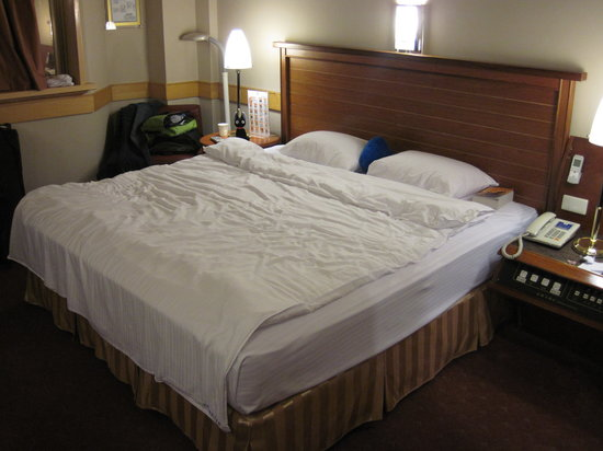 Kindness Hotel Taitung : bed