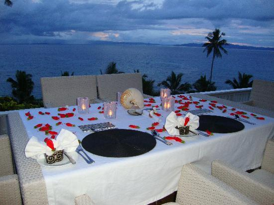 Taveuni Palms Resort: Every meal was a visual treat