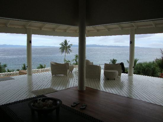 Taveuni Palms Resort: Terrible view from the lounge!!!