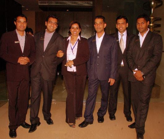 The Westin Hyderabad Mindspace: The best team ever came across... All you guys Rock!!!