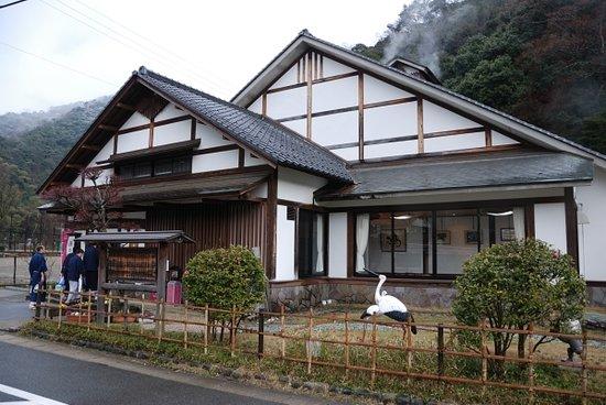Kinosaki Onsen: 鴻の湯。源泉も近くにあります