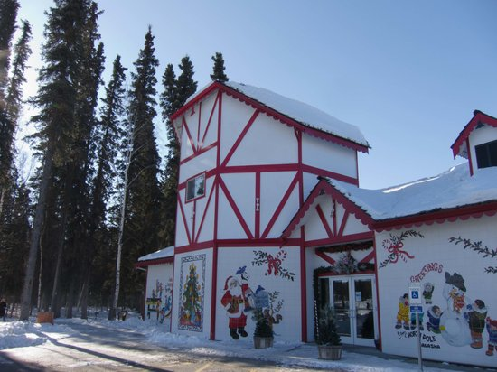 North Pole, AK: Santa's house