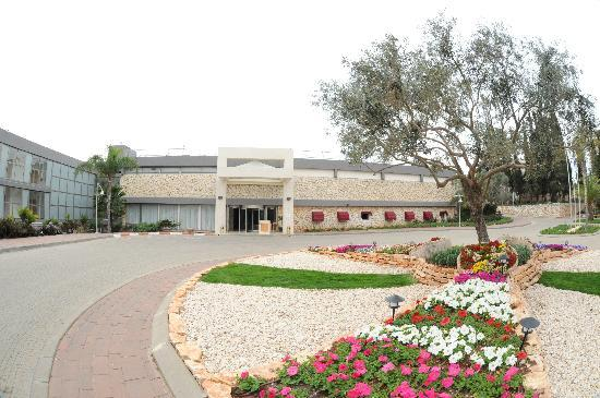 Gardenia Nazareth Hotel: hotel entrance