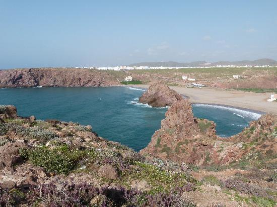 Hotel du Sud : Vue sur la plage de Sidi Mohamed B.Abdallah