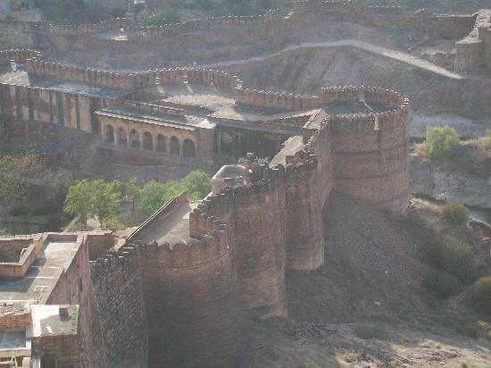 Mehrangarh Fort: View from the fort