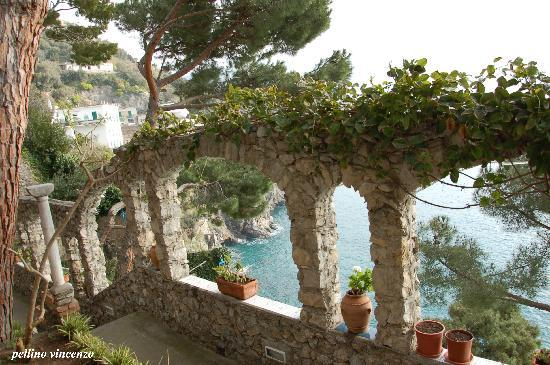 Villa San Michele: Panorama dal giardino villa