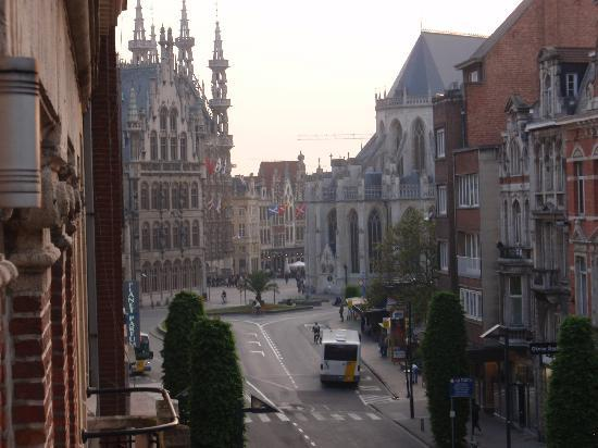 Theater Hotel Leuven: View from room 1