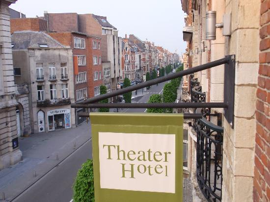 Theater Hotel Leuven: View from room 2