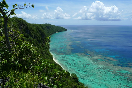 Solomon islands/Isole Salomone: Hike over the cliffs