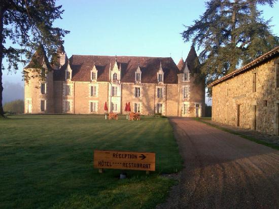 Domaine des Etangs : the drive up