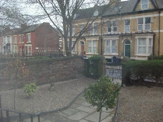 The Anfield B&B: front of the guest house