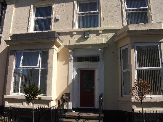 The Anfield B&B: front door