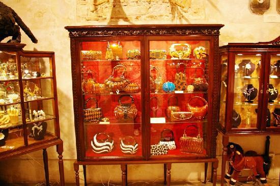 La Basilica Galeria : Bolsos de madera de Acacia