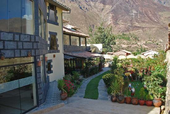 Ccapac Inka Ollanta Boutique Hotel: ENTRADA PRINCIPAL