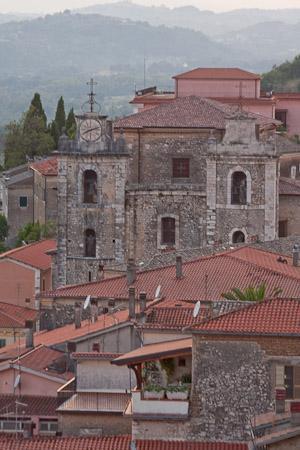Arce, Italia: una veduta del paese