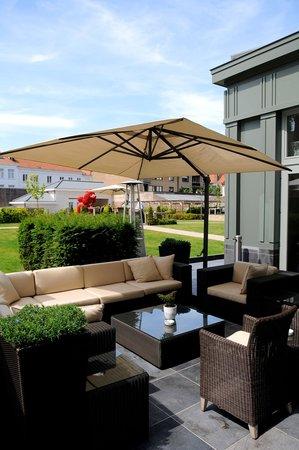 Hotel Dukes' Palace Bruges: Terrace