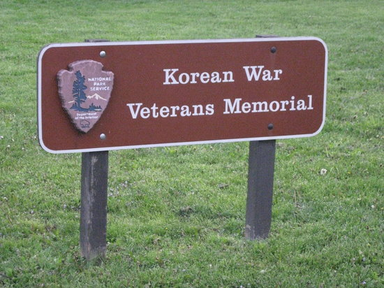 Korean War Veterans Memorial: Signage