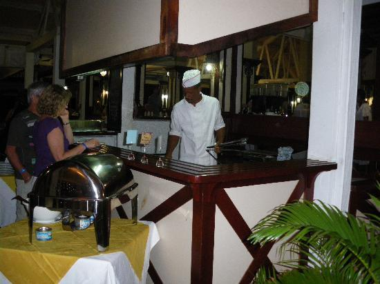 Sainte-Luce, Martinique: Plats chauds