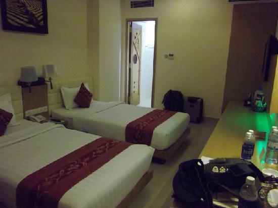 Queen Ann Hotel: Twin room