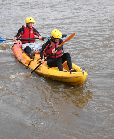 Appledore, UK: Kayaking with Skern lodge in North Devon