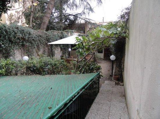 Orcagna Hotel: Jardin