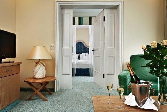 Maximilian Quellness- und Golfhotel: Romantiksuite