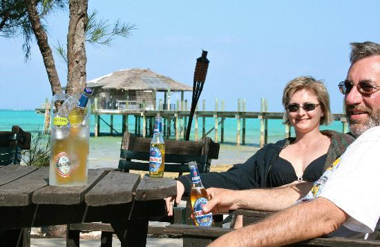 Small Hope Bay Lodge: Just another happy hour