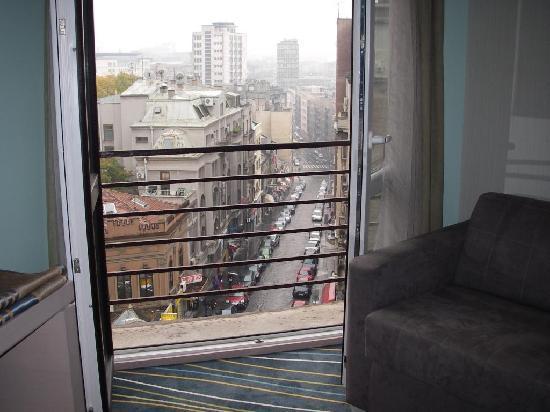 Hotel Prag: Aussicht