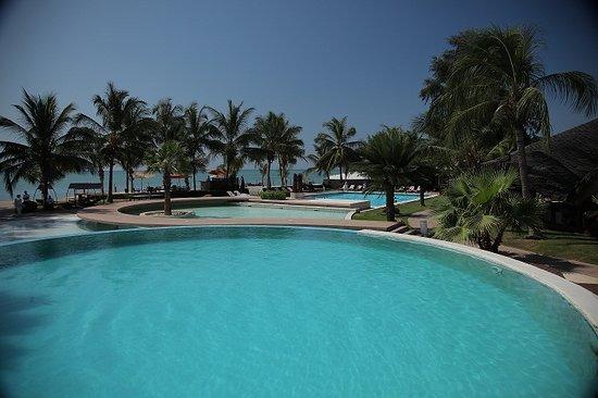 La Teranga Hotel & Villas: les 3 piscines