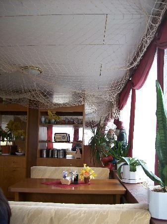 Prague River Hotel - Botel Vodnik: Sala de desayuno